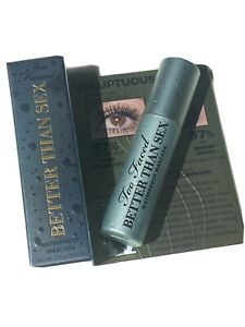 Too Faced Mini Better Than Sex Waterproof Mascara BNWB Authentic