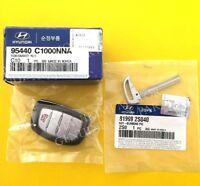 OEM Keyless Entry Panic Smart Key Remote Immobilizer 2015-2017 Hyundai Sonata