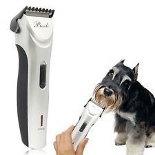 Silver Electric Animal Pet Dog Cat Hair Trimmer Shaver Razor Grooming Clipper