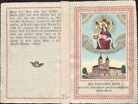 Santa María Wallfahrt Cuadro Santos Amría Imagen Milagrosa Koloriert (B-6615