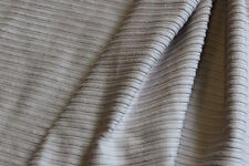 1 Metre Grey Upholstery  Corduroy  Fabric 112 cms - 8 Wale (Approx)