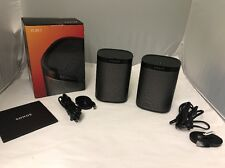 Sonos Play:1 Compact Smart Speaker For Streaming Music, Black (Pack Of Two )
