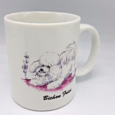 Bichon Frise Coffee Mug Dog MCartney Krazy K9 Designs 1992 1990s USA