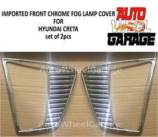Imported Premium Quality Fog Lamp Cover Chrome Garnish Hyundai Creta