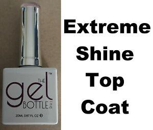 NEW The Gel Bottle Inc TGB Extreme Shine Top Coat Builder Gel System UV LED 20ml