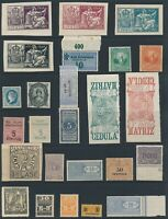 Lot Stamp Germany Revenue World Germany Spain 1898 and After Police Stub MNH MNG