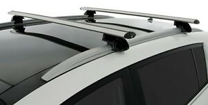 2x new cross bar roof racks for AUDI A4 WAGON  connects to side flush rail