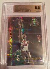 1996 Topps NBA Stars Finest Wilt Chamberlain Atomic Refractor BGS 9.5 Gem Mint!