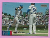 2020 Topps Stadium Club Javier Baez #100 Chicago Cubs
