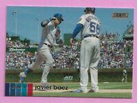2020 Topps Stadium Club Javier Baez #100 Chicago Cubs