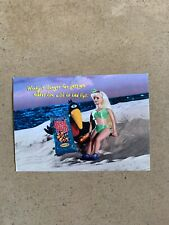 Corn Nuts Winky The Crow Show Color Promotional Promo Advertising Postcard 2000