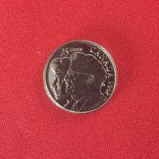 CANADA Quarter 25 twenty five cents Brilliant 2005