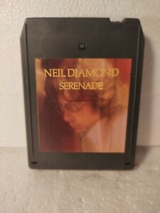 Neil Diamond Serenade Columbia CBS 1974 Eight 8 Track Tape et316