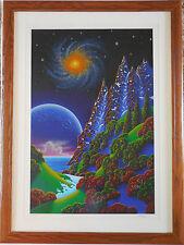 "Jon Rattenbury ""Night Vision"" Framed Limited Edition Serigraph Hand Signed COA"