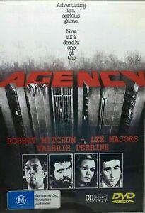 Agency DVD Lee Majors, Robert Mitchum
