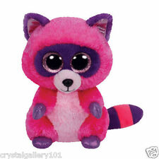 """TY Beanie Babies Boo's Roxie Raccoon 6"""" Stuffed Collectible Plush Toy NEW"""