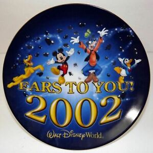 WALT DISNEY WORLD 2002 - EARS TO YOU - PORCELAIN COLLECTOR PLATE
