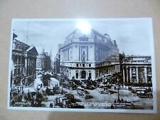 1933 RP Postcard: MANSION HOUSE,NATIONAL PROVINCIAL BANK & BANK OF ENGLAND+Stamp