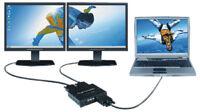 Matrox Dual Head2Go Digital Component Video Graphics 2 Screen Monitor Splitter