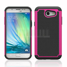 Rugged Shockproof Armor Case Rubber Cover For Samsung Galaxy J3 Prime / Sol 2