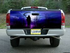 T07 GRIM REAPER SKULL TAILGATE WRAP Vinyl Graphic Decal Sticker Tint Bed