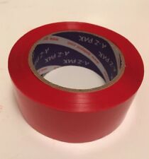 """Red Acrylic Packing Tape, 2.0 mil  2"""" x 330' / 48 mm x 110 yards  1 Roll 1pc"""