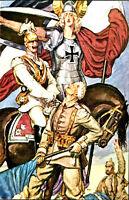 Vintage German Military Art Poster WW 1