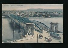 Australia BRISBANE Victoria Bridge c1900/10s? PPC