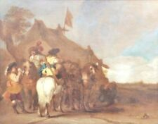 Peintures et émaux du XIXe siècle et avant huiles école flamande