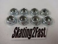 8 New 7mm Lock Nuts Quads Roller Skates 7mm Axle & Wrench Size: 7/16""