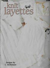 Knit Layettes - Patterns - New - Leisure Arts