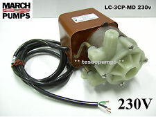 March   LC-3CP-MD  230v  50/60hz  500 gph submersible pump  Cruisair PML500CL