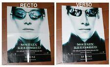 "KEANU REAVES "" MATRIX RELOADED "" AFFICHE de CINEMA POSTER 43x56 cm-17'' x 22 ''"