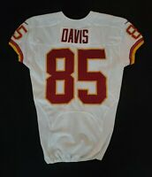 #85 Vernon Davis of Washington Redskins NFL Game Issued Player Worn Jersey