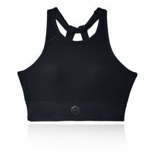 Under Armour Womens Rush Bra Black Sports Boxing Cycling Gym Breathable
