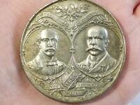 1896 LEEDS CONSERVATIVE MAYOR Since 1836 Medal 50mm OWEN Maker #T23010