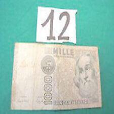 1000 mille lire marco polo 6-1-1982 QF 672331 L RARA