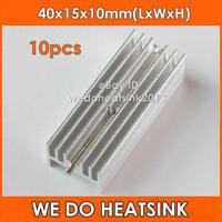 10pcs 40*15*10 mm TO220 / TO-220 Aluminum Radiator Heatsink With Needle