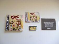 ♠ Nintendo Jeu Original Bratz Diamondz Avec Boite Et Notice Game Boy Advance ♠