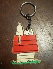 Vintage 1958 Peanuts Snoopy Plastic Keychain