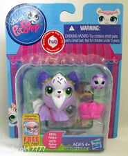 2013 NIP Littlest Pet Shop Mommy & Rolling Baby MALTESE PUPPY DOG FREE SHIP