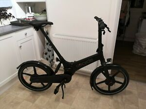 Gocycle GX Folding Electric Black Bike Bicycle Incl Mudguards + Lights