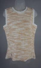 Maglie e camicie da donna alti casual in misto cotone