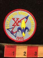 Vtg 1985 WEBELOREE ELIZABETH RIVER BSA Boy Scouts Patch 70V7