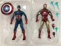 2-SET Marvel Legends Avengers Endgame Fat Thor CAPTAIN AMERICA + IRON MAN MK85