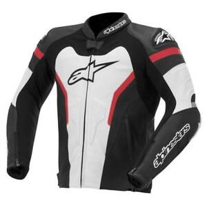Alpinestars GP Pro Leather Sport Motorcycle / Motorbike Jacket - WBR