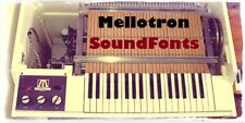 290+ Mellotron and Tron SoundFonts (SF2)