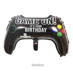 Game On! Gamer Foil Balloon Birthday Party Fun Gaming Controller Helium Decor