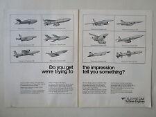 9/1973 PUB TELEDYNE CAE TURBINE ENGINES RPV MISSILE TARGET DRONE ORIGINAL AD