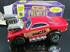 RED BIG BANGER RETRO 70's PREMIERE COLLECTION SERIES 13 LOOSE MATCHBOX